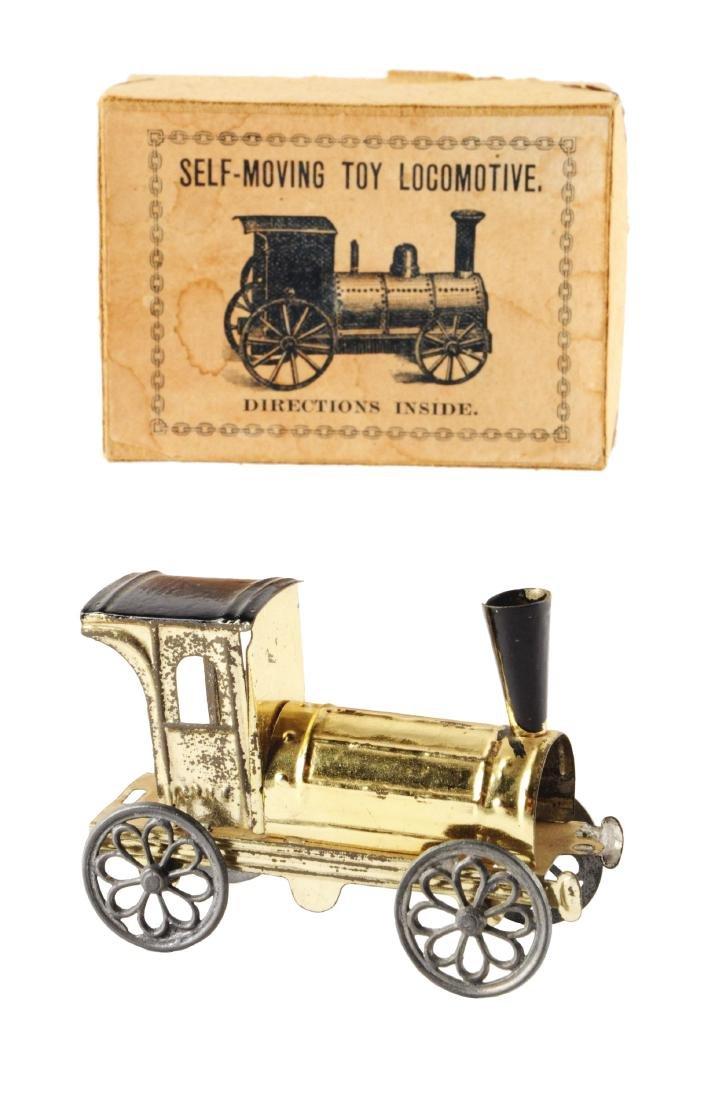 Early European Penny Toy Train.