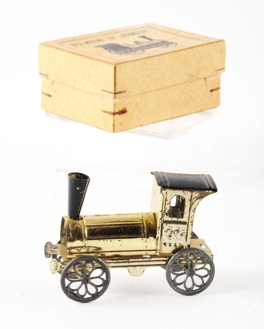 Early European Penny Toy Train. - 2