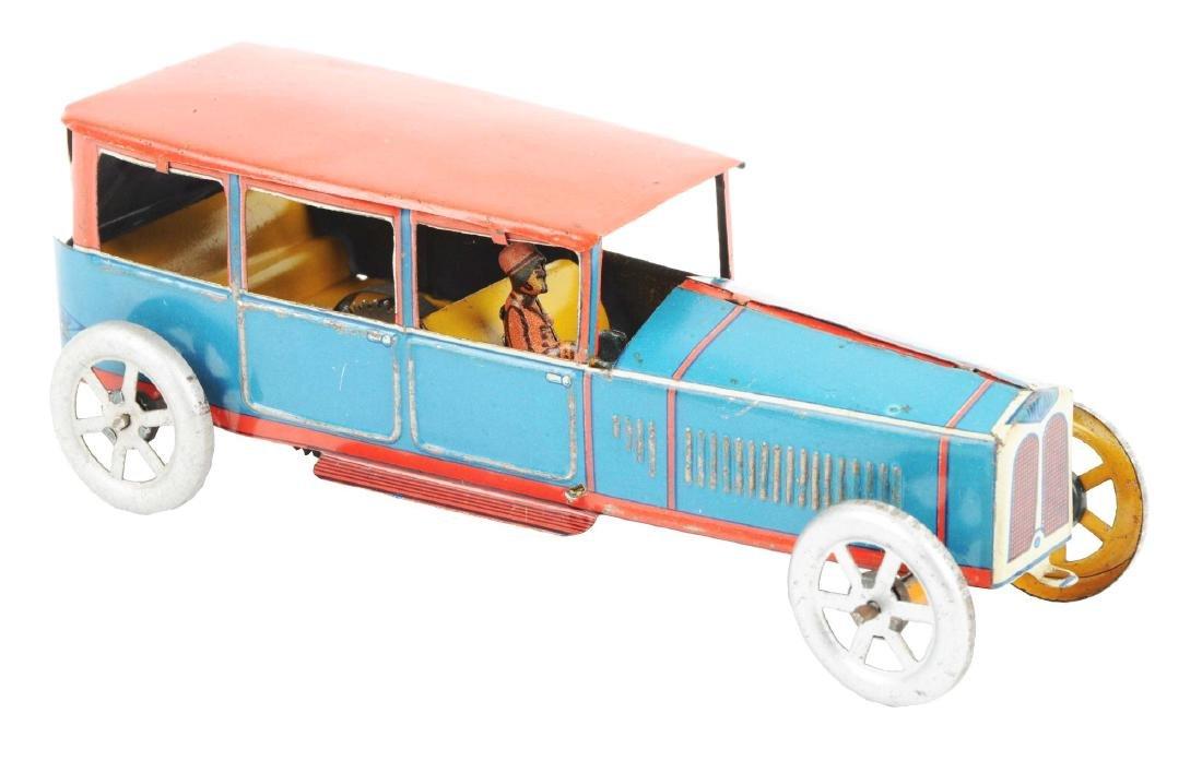 Italian Ingap Tin Litho Wind Up Sedan Automobile.