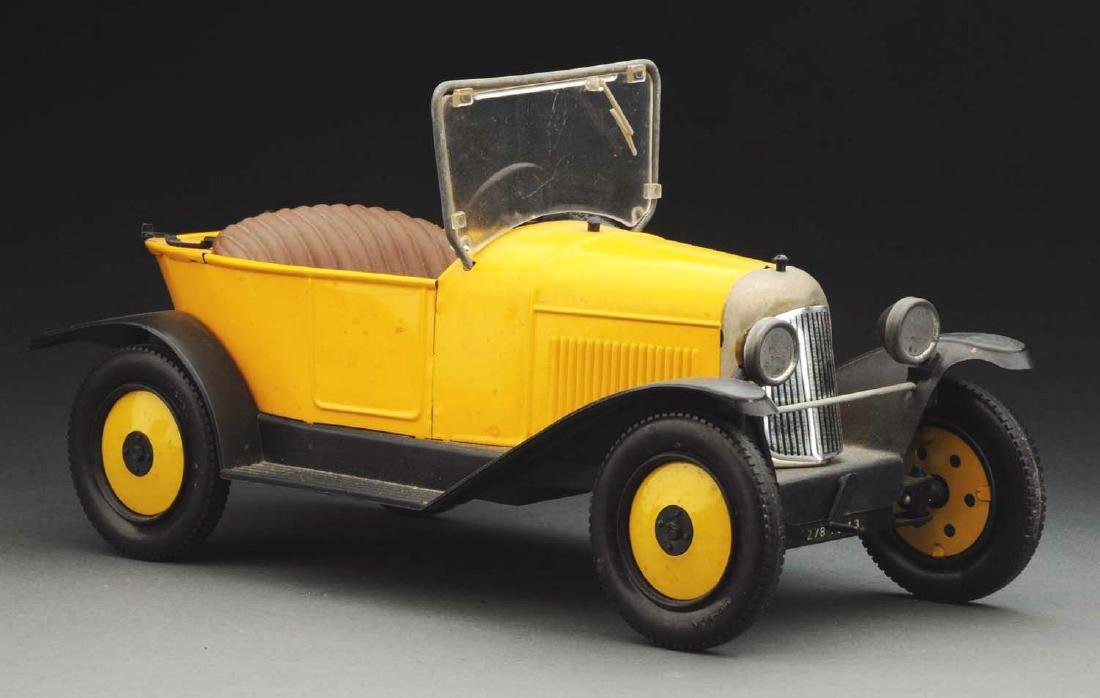 Contemporary French Citroen Boat Tailed Roadster.