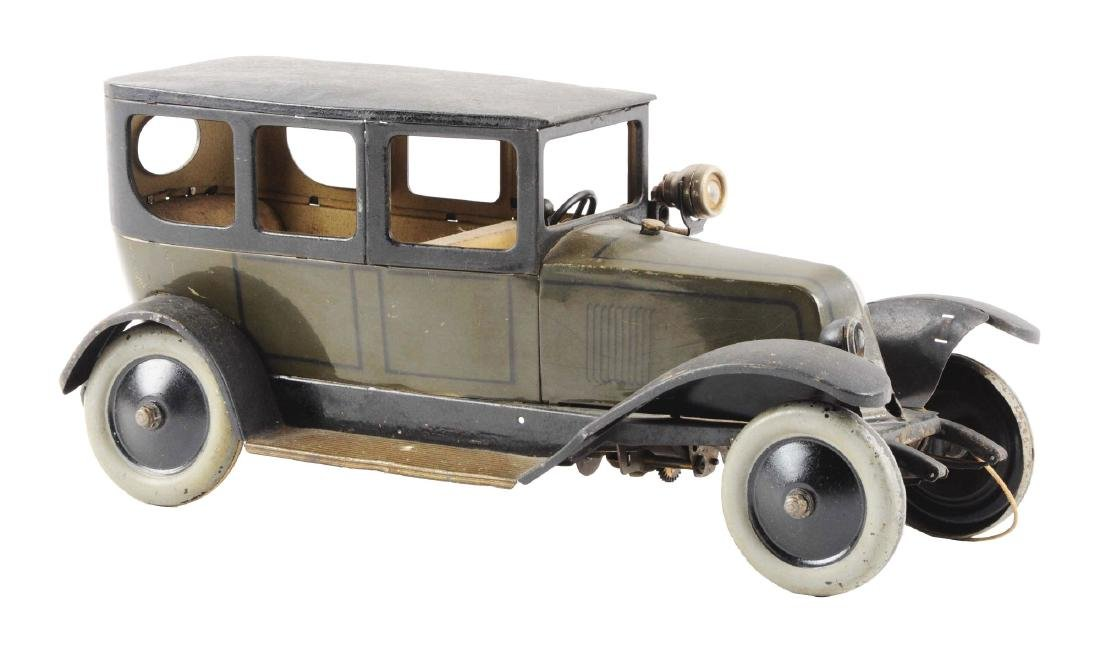 Pre-war French Tin Litho Wind Up Jep Automobile.