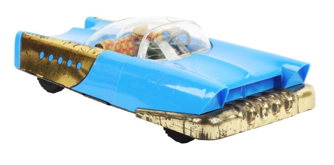 German Tin Litho & Plastic HWN Futuristic Space Car.