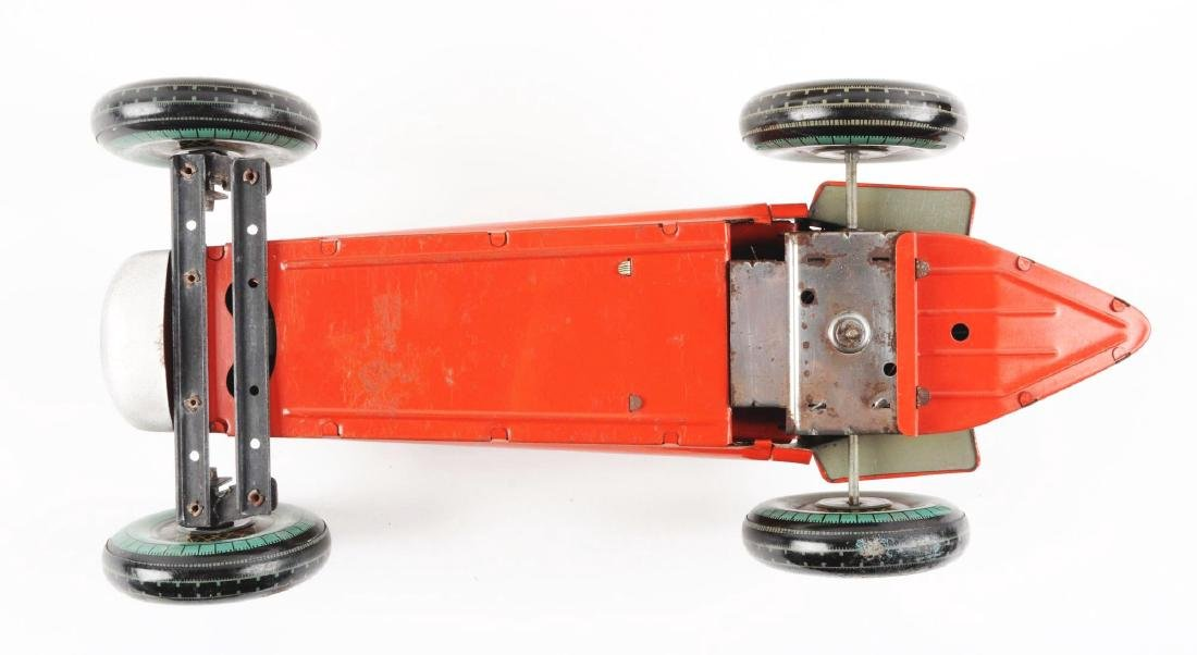 English Mettoy Tin Litho Wind Up Racing Car. - 4