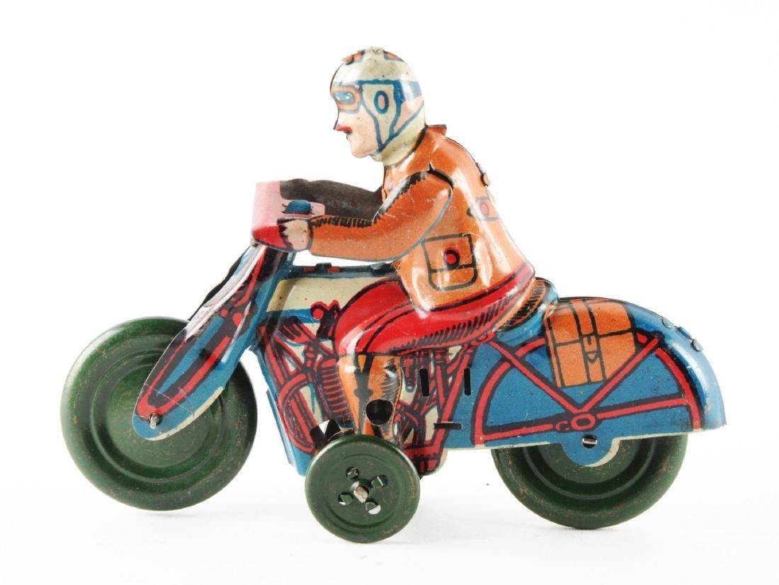 Spanish Tin Litho Motorcycle Toy. - 2