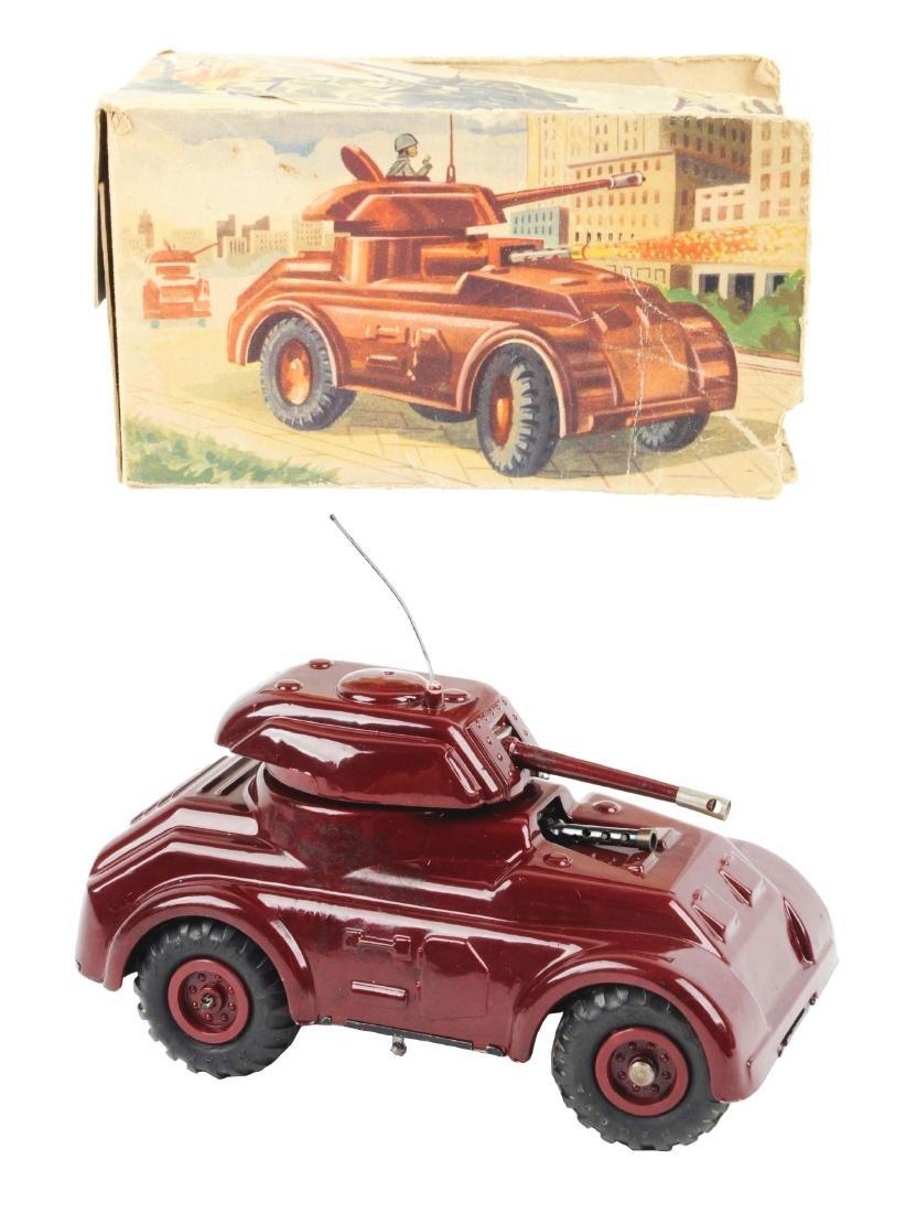 Unusual Pre-war Italian Ingap Wind Up Tank.