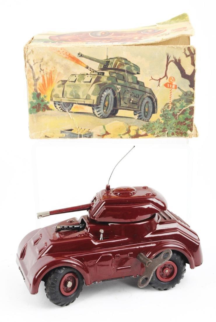 Unusual Pre-war Italian Ingap Wind Up Tank. - 2