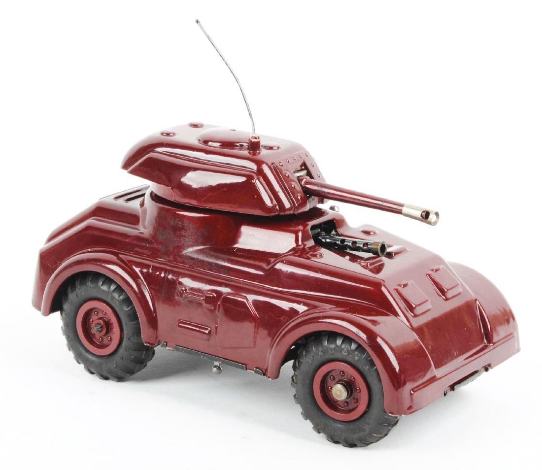 Unusual Pre-war Italian Ingap Wind Up Tank. - 5