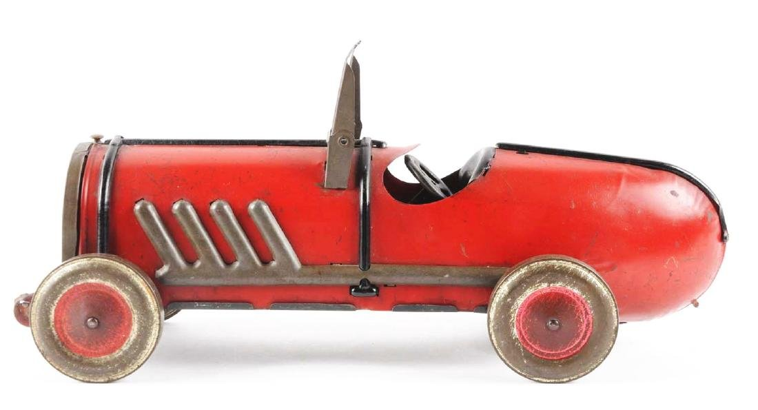Kiddies Metal Toys Tin Oh-Boy Auto Race Car. - 4