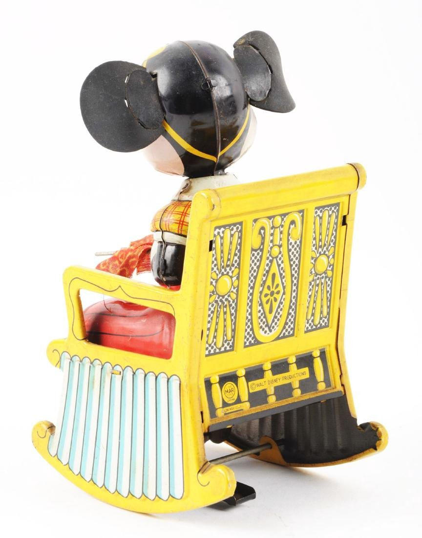 Linemar Walt Disney Tin Lithio Wind Up  Minnie Mouse in - 2