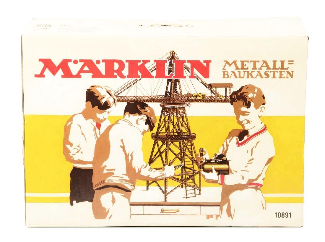 Marklin No. 10891 Metal Baukasten Crane.