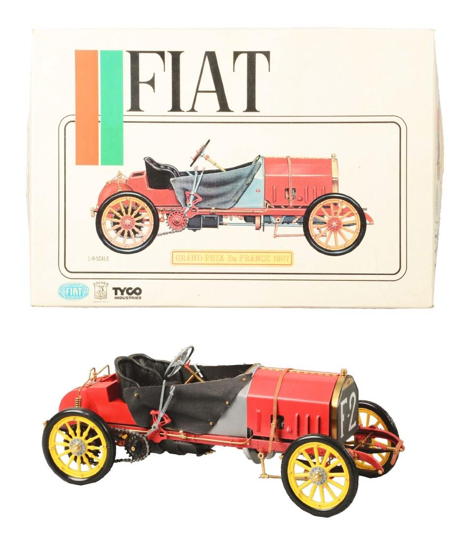 Pocher Fiat Grand Prix de France 1907 Racecar Model.
