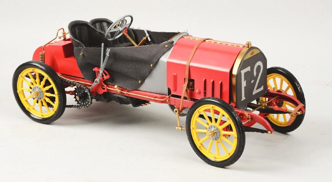 Pocher Fiat Grand Prix de France 1907 Racecar Model. - 2