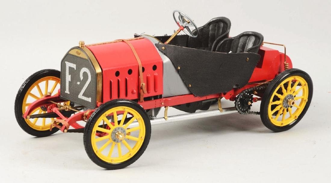 Pocher Fiat Grand Prix de France 1907 Racecar Model. - 3
