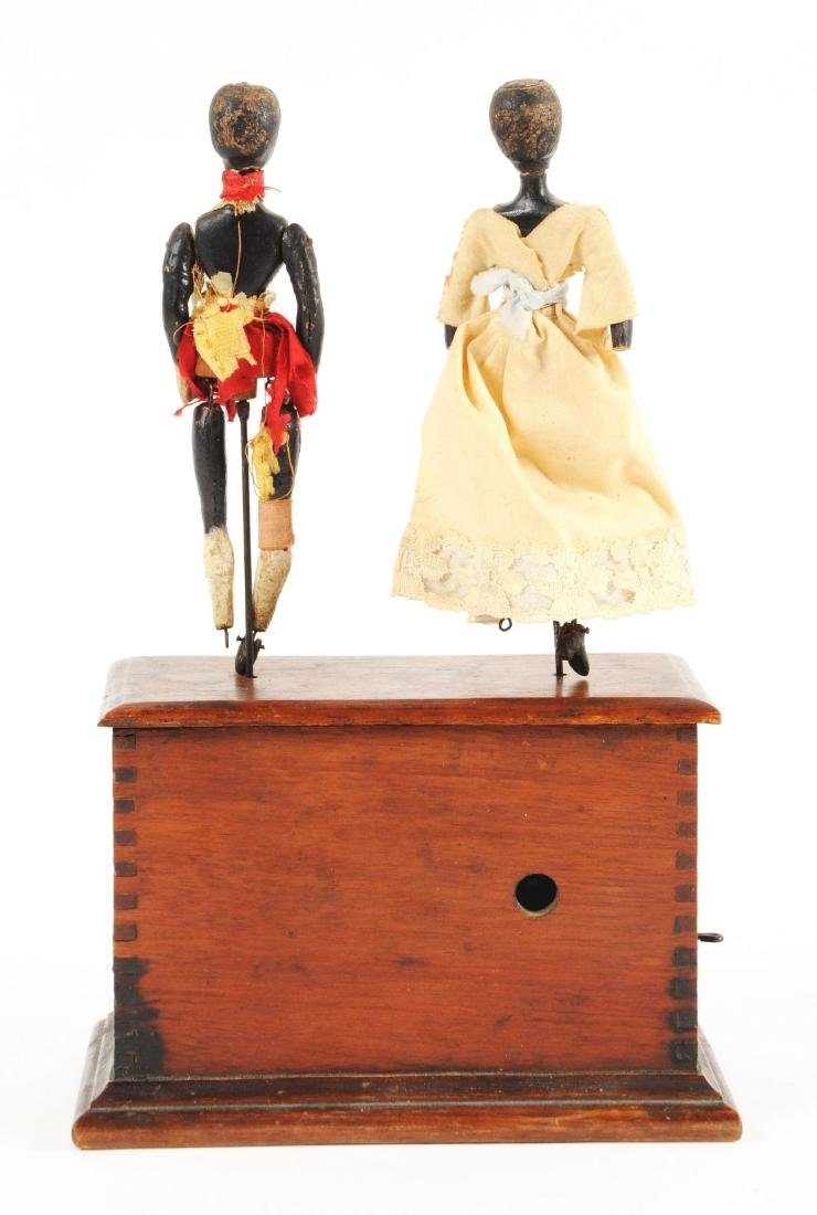 Early Ives Clockwork Dancers Toy. - 2