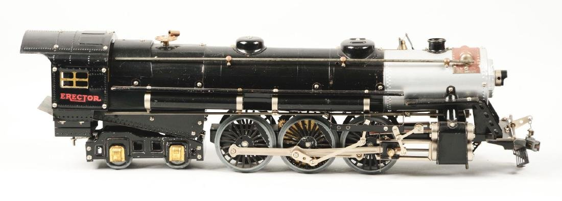 Scarce Erector No. A Hudson Train Locomotive.