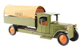Pressed Steel Structo Army Truck