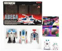 Lot of 2: Love-Bo-Gi-Bots & Abega.