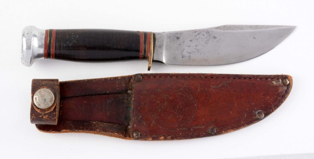 Marbles Official Boy Scout Fixed Blade.