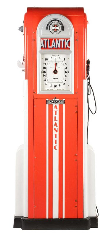 Wayne No  866 Clockface Gas Pump