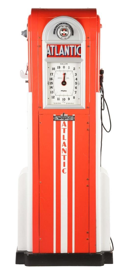 Wayne No. 866 Clockface Gas Pump.