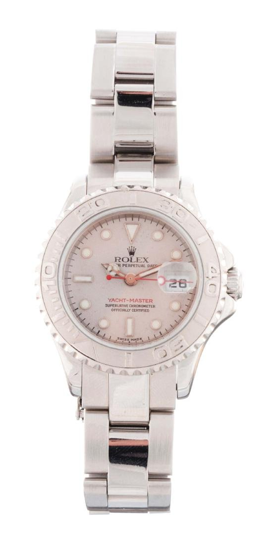 Rolex Stainless Steel YatchMaster Ladies Reference
