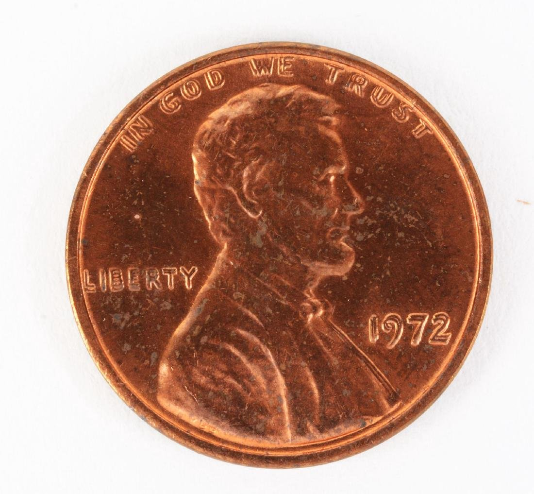1972/72  Doubled Die Lincoln Cent.