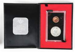 1972 Cayman Island Gold and Silver Coins