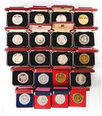 Lot of 20 1 Crown Coins