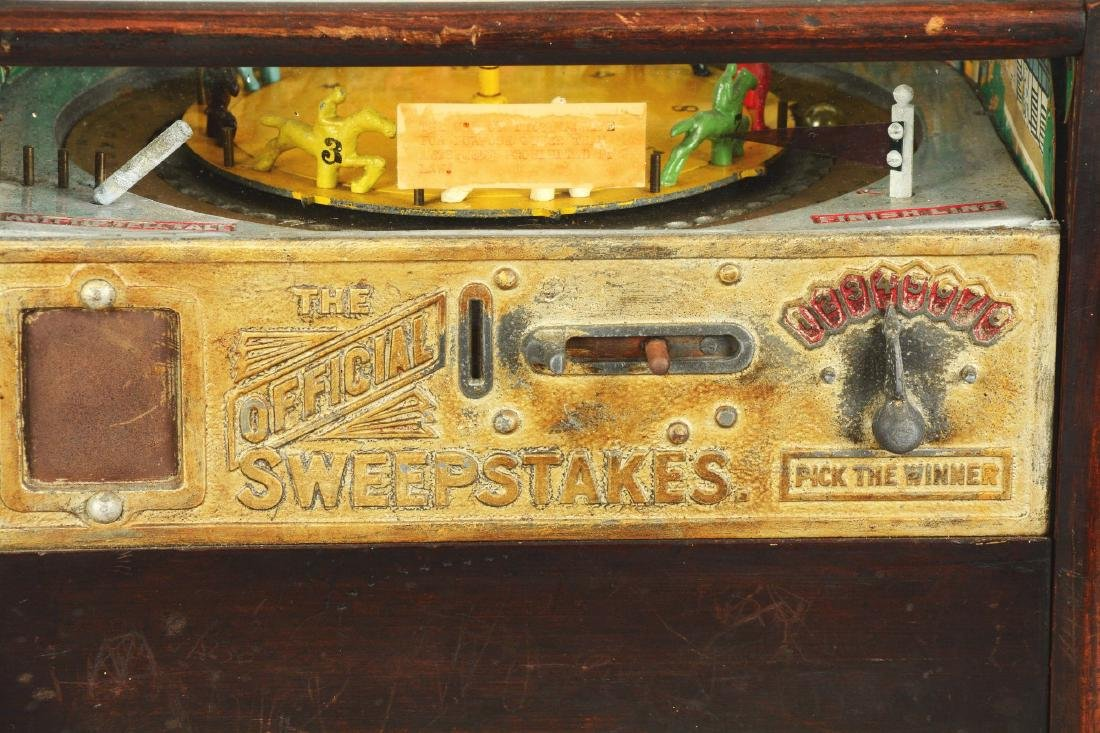 **1¢ Rock-Ola The Official Sweepstakes Horse Race - 3