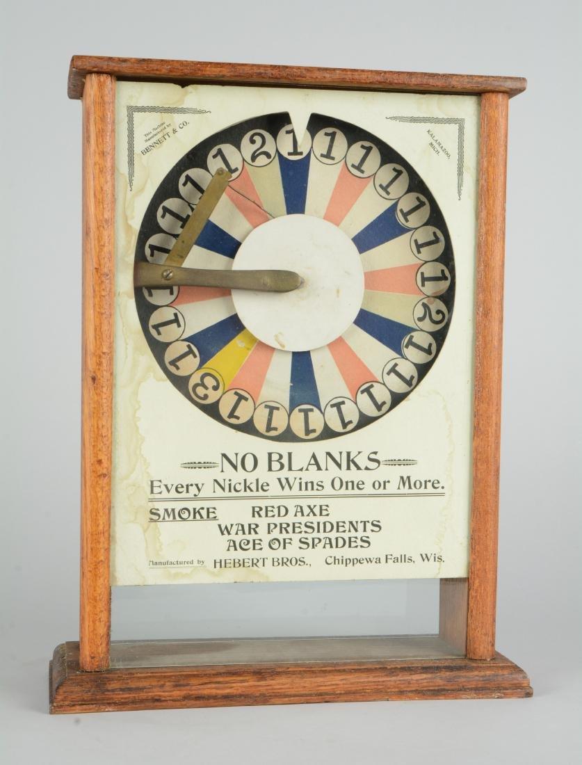 **5¢ Bennett & Co. No Blanks Cigar Trade Stimulator. - 2