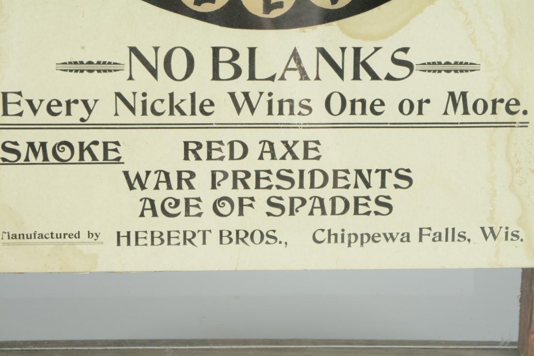 **5¢ Bennett & Co. No Blanks Cigar Trade Stimulator. - 5