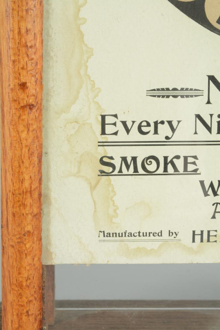 **5¢ Bennett & Co. No Blanks Cigar Trade Stimulator. - 6