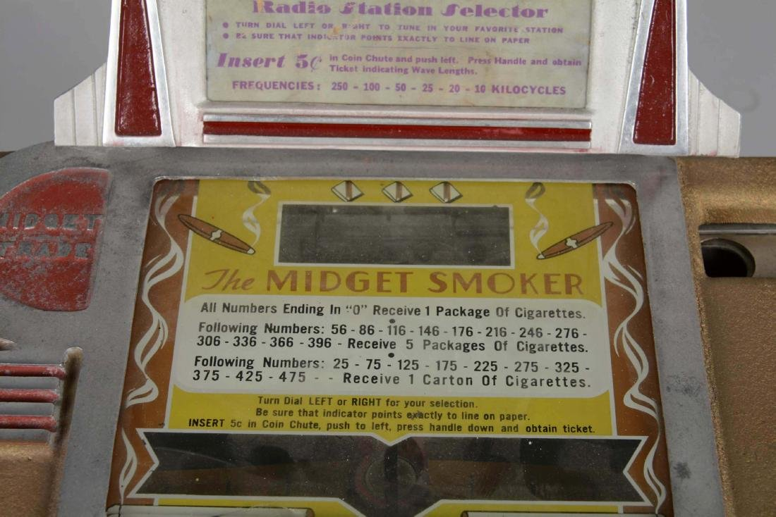 **5¢ Midget Smoker Trade Stimulator. - 2