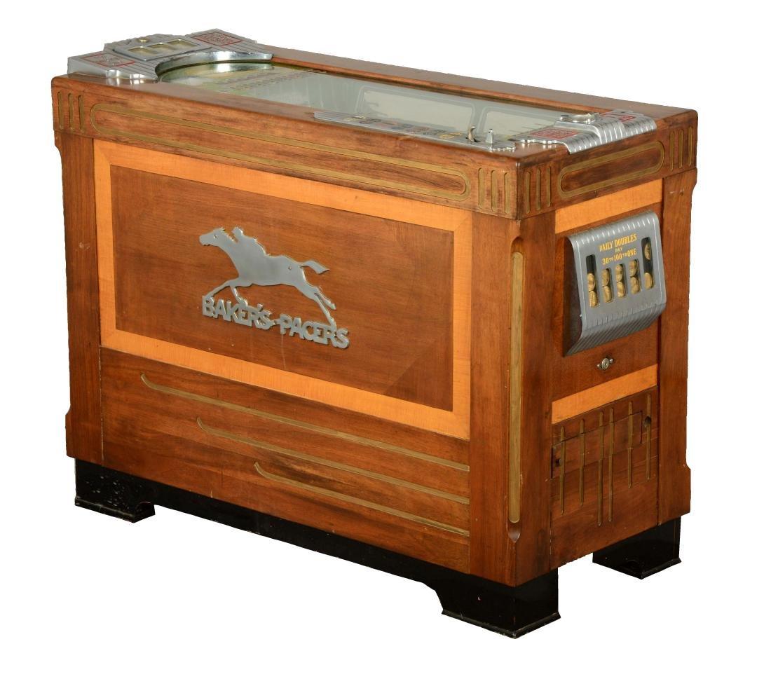**5¢ Baker's Pacers Console Slot Machine.