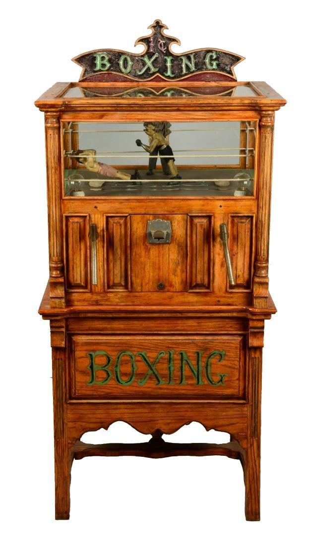 1¢ Boxing Floor Model Arcade Machine.