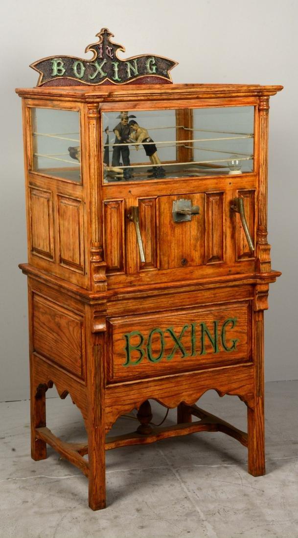 1¢ Boxing Floor Model Arcade Machine. - 2
