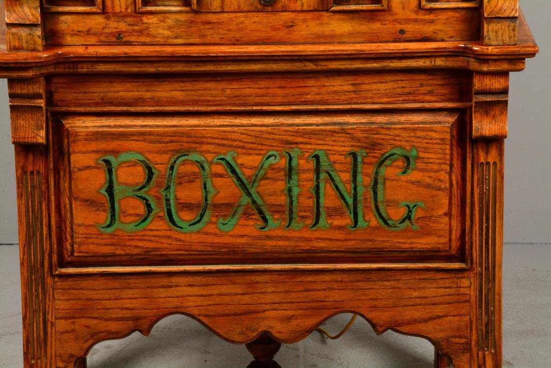 1¢ Boxing Floor Model Arcade Machine. - 4