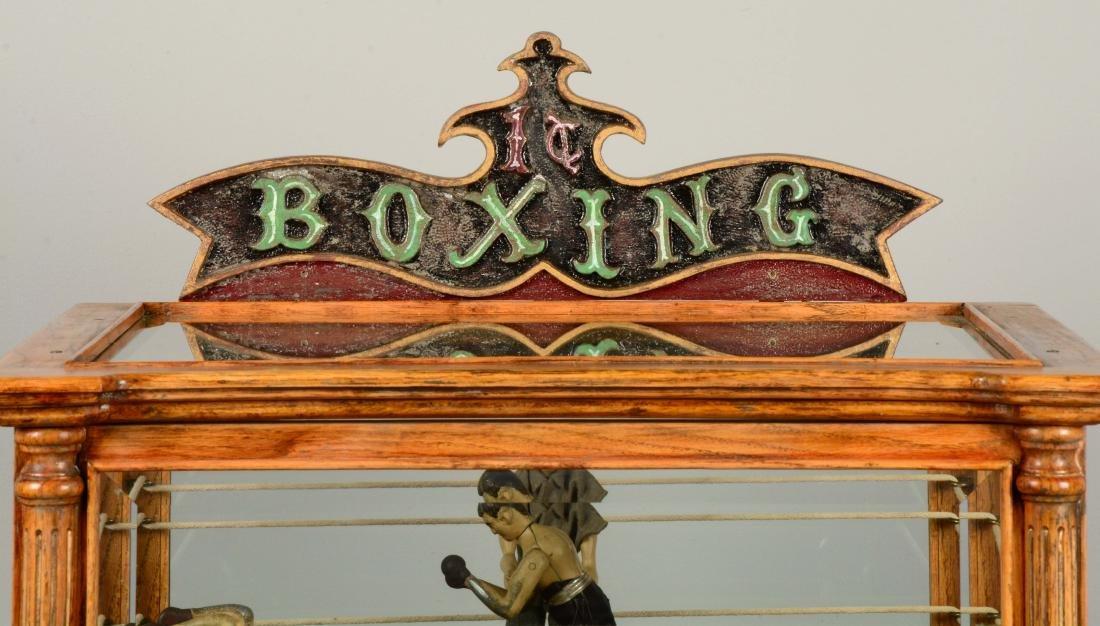 1¢ Boxing Floor Model Arcade Machine. - 5