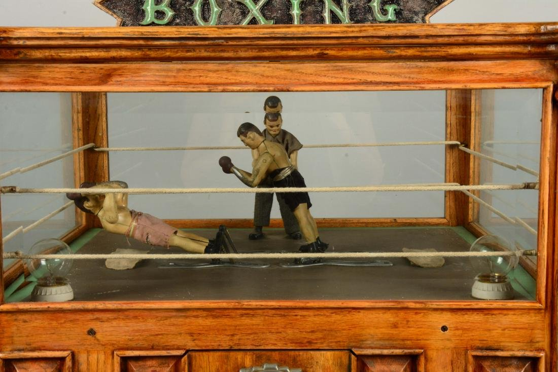 1¢ Boxing Floor Model Arcade Machine. - 6