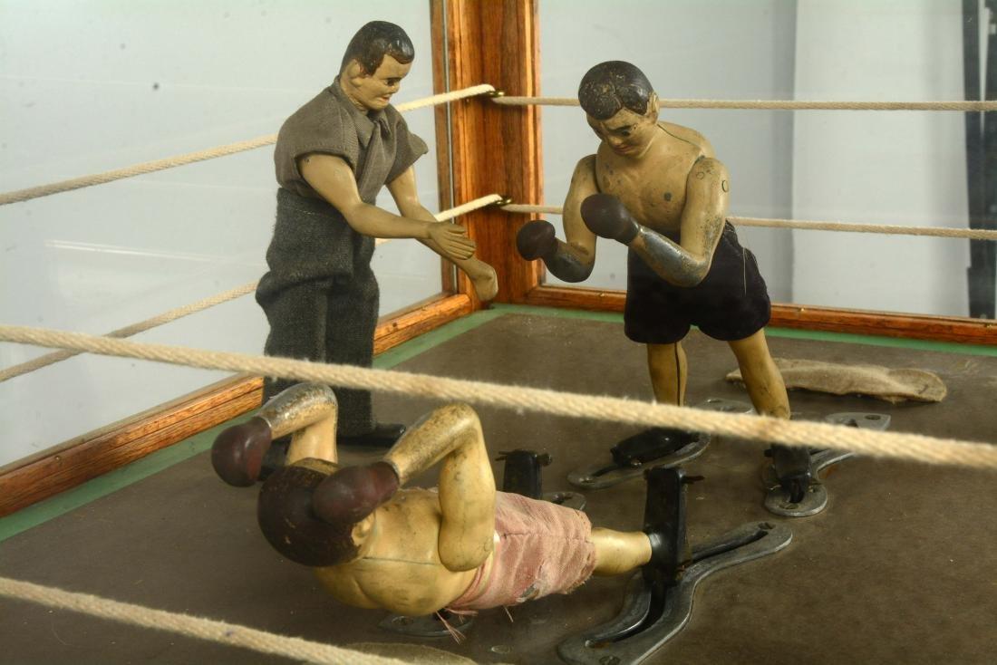 1¢ Boxing Floor Model Arcade Machine. - 8