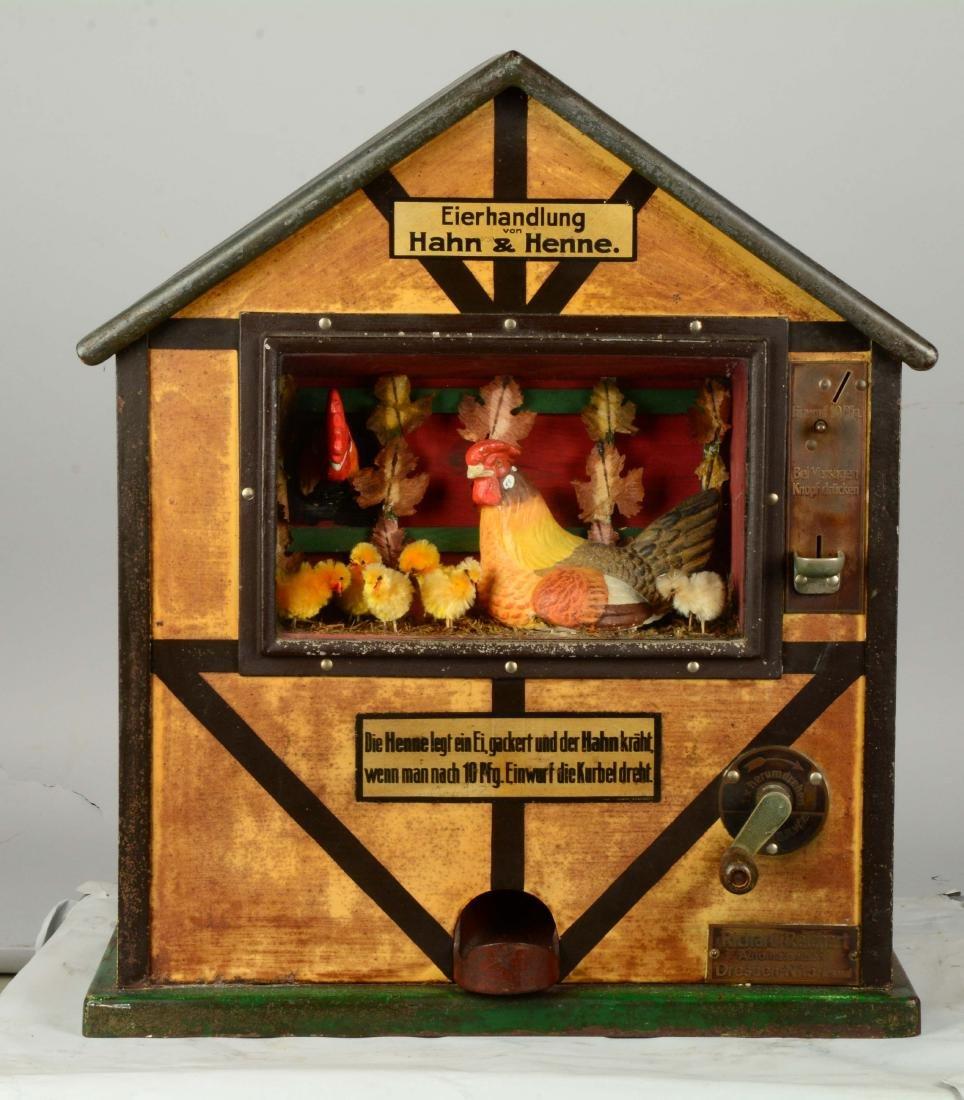 10Pf Reichert's Eierhandlung Han & Henne Vendor. - 3