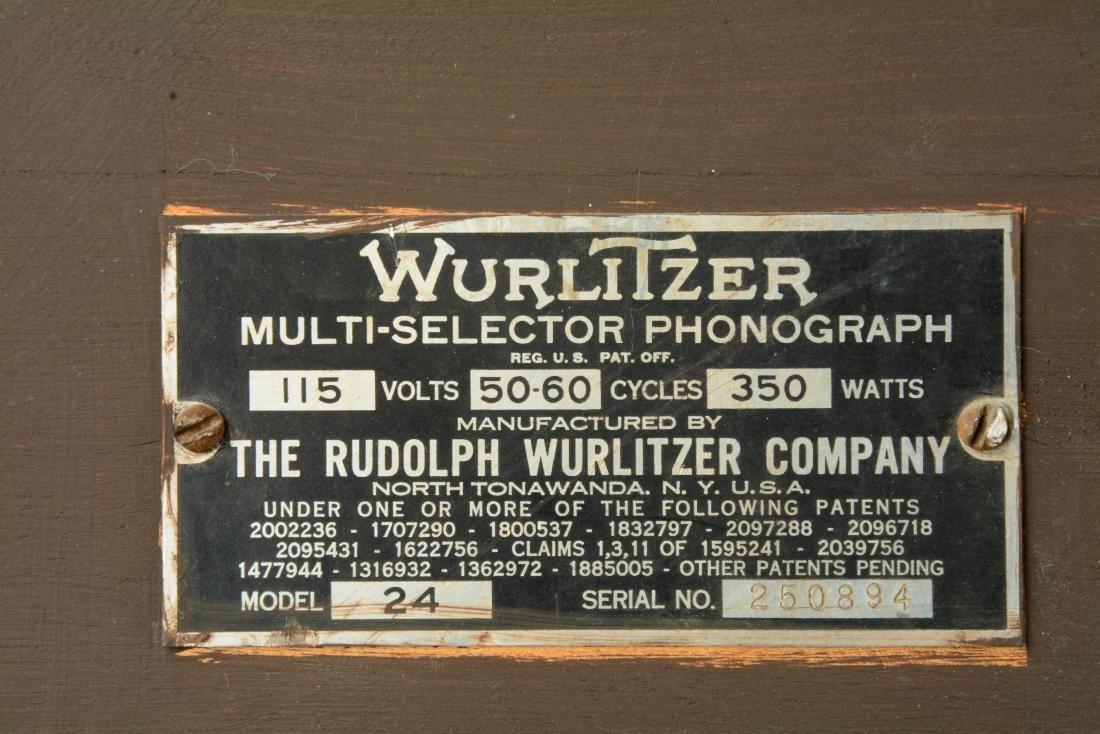 "Multi-Coin Wurlitzer ""Victory"" Jukebox. - 10"
