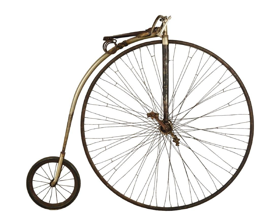 Penny-Farthing High Wheel Bicycle.