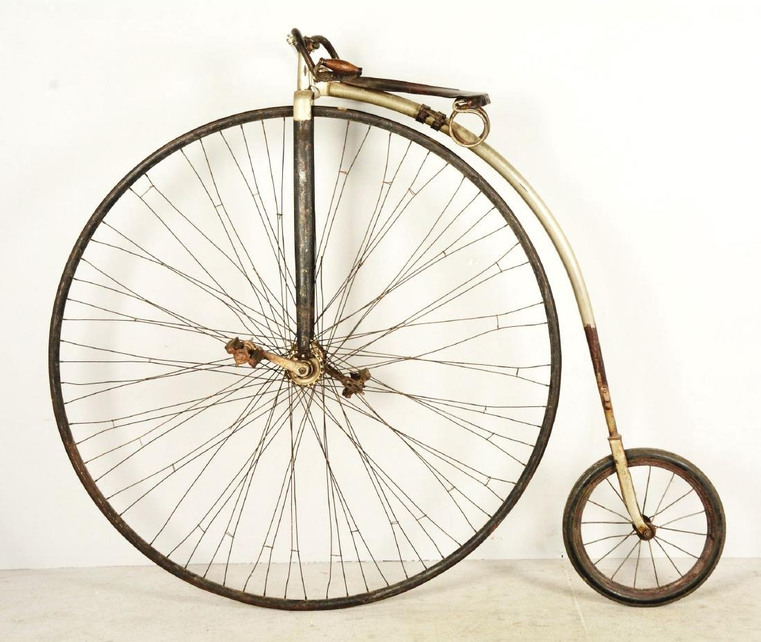 Penny-Farthing High Wheel Bicycle. - 2