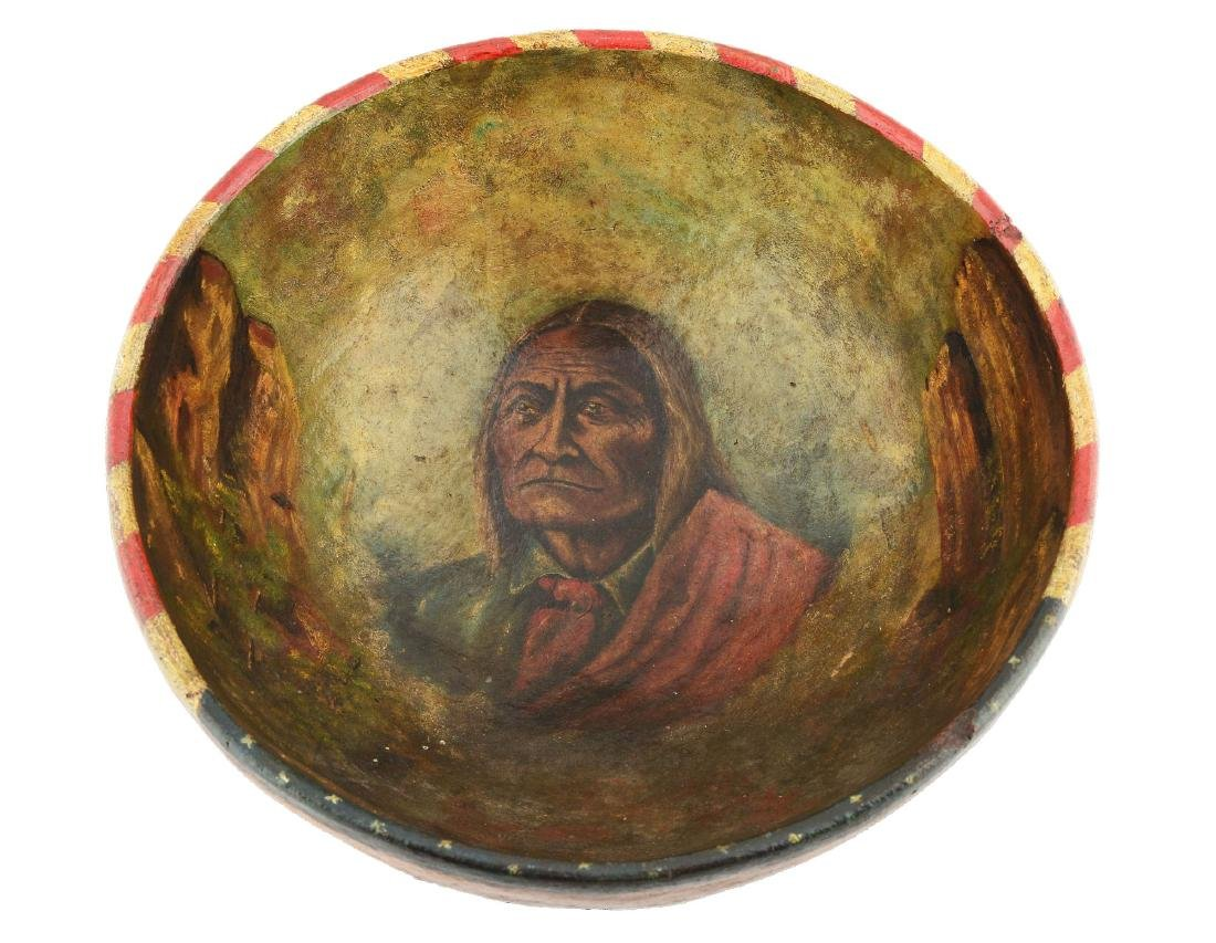 Chief Geronimo Clay Bowl.