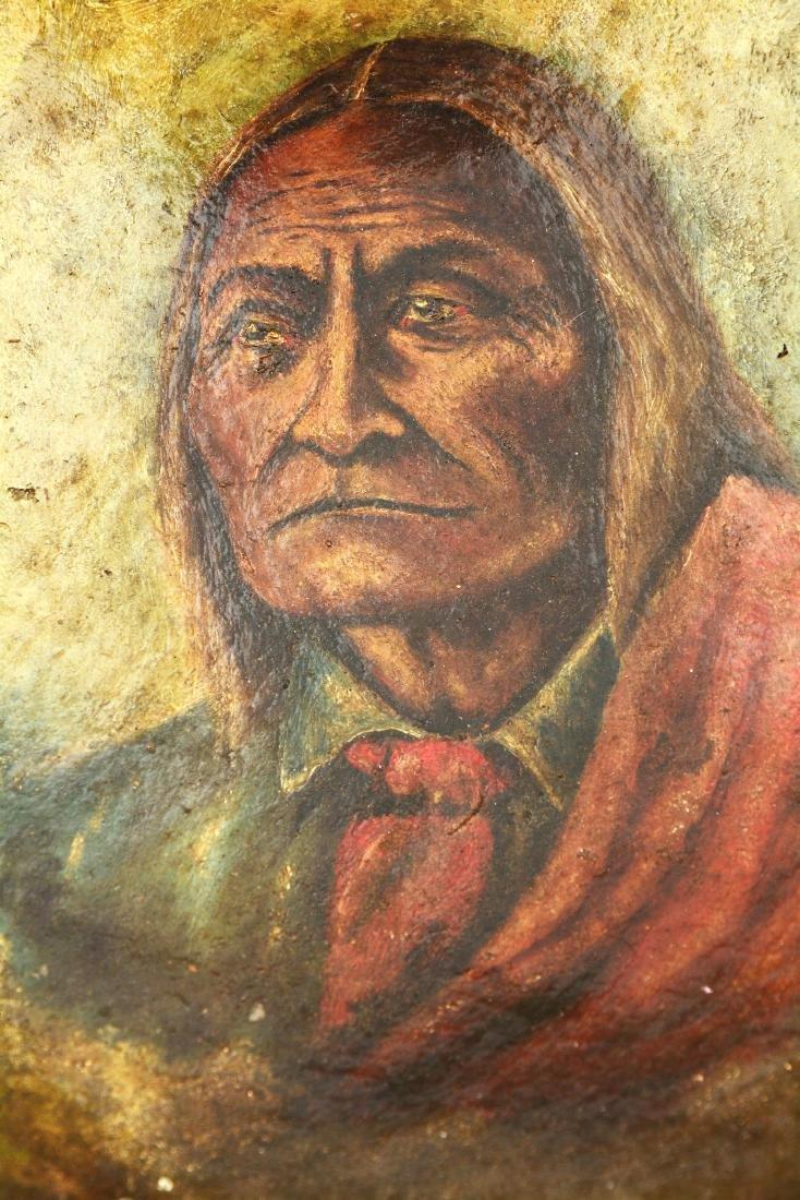 Chief Geronimo Clay Bowl. - 5