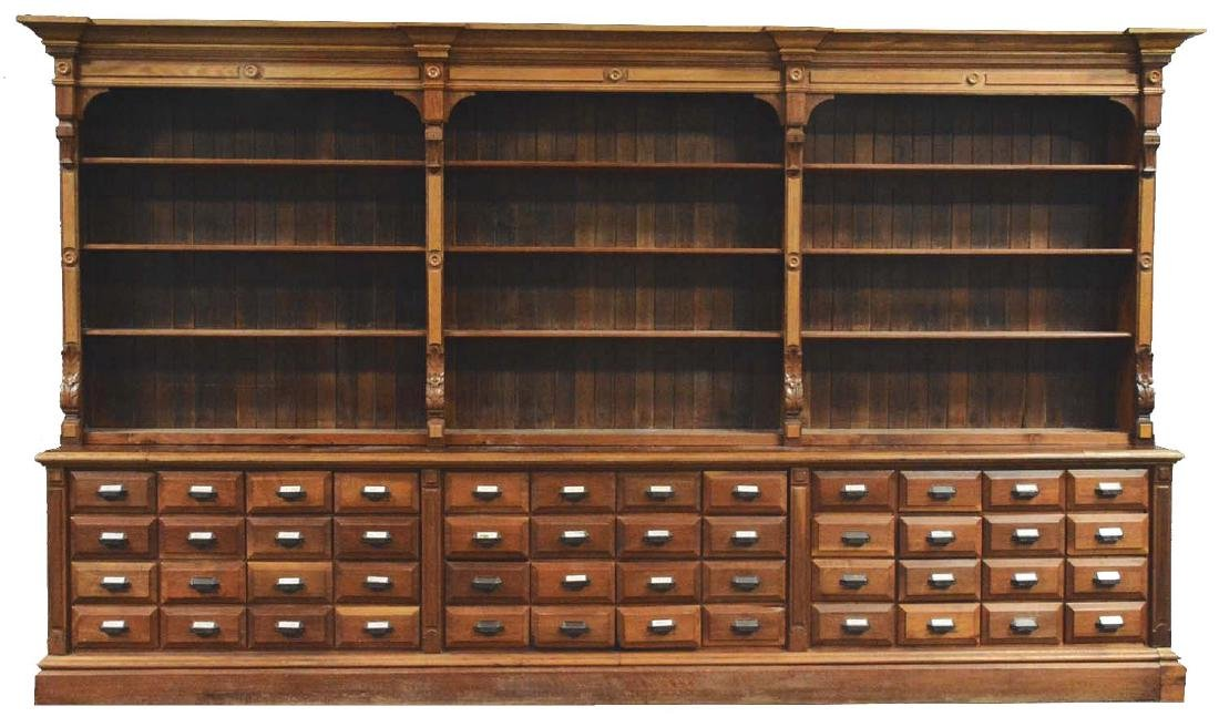 Apothecary Cabinet And Shelves.