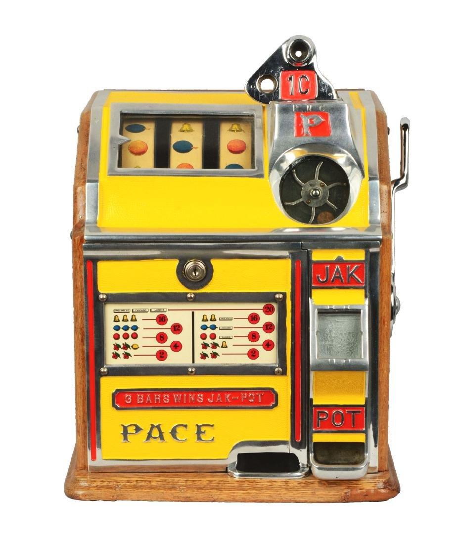 **1¢ Pace Bantam Jak-Pot Slot Machine.