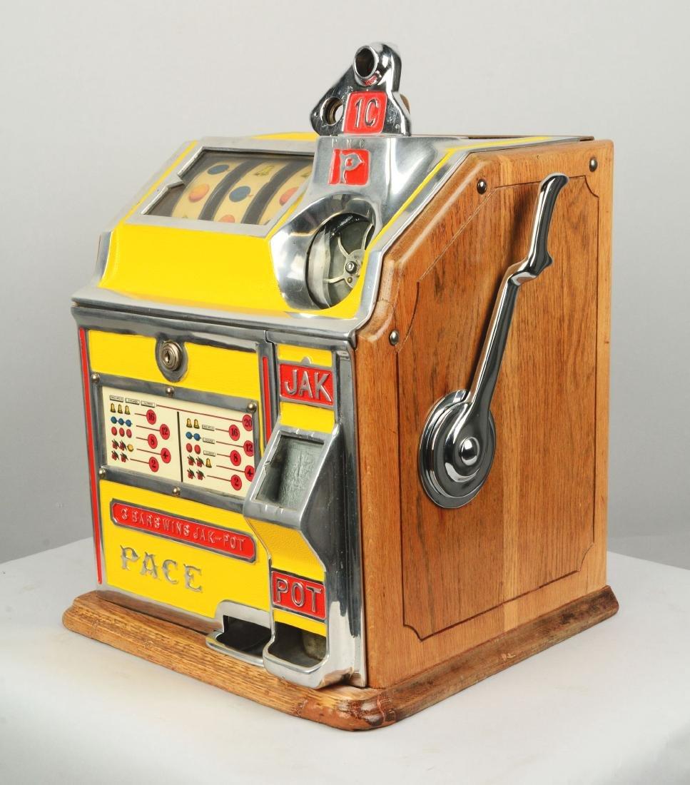 **1¢ Pace Bantam Jak-Pot Slot Machine. - 2