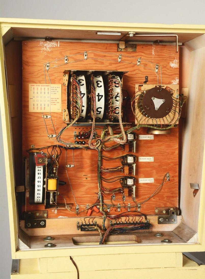 5¢ Gottlieb's Slick Chick Pinball Machine. - 11